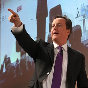 David Cameron promised a 'new economic dynamism' at the CBI annual conference