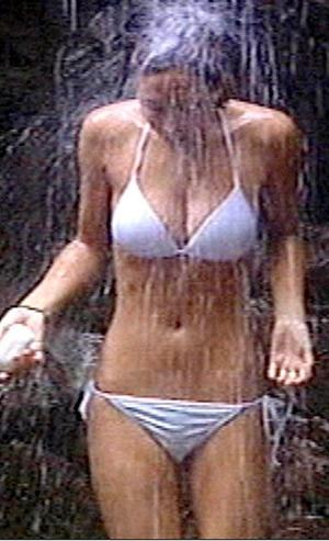 <b>No 2 MYLEENE KLASS</b><br/> It was Myleene's stunning bikini body that re-launched her career and turned her into a household name.  She was a faded singer from flop pop group Hear'say until she pulled on this demure white Rigby & Peller number and headed to the Australian jungle for I'm A Celebrity...Get Me Out Of Here. A few cold  showers under a waterfall and television history was made — the nation fell in love with Myleene, 33, all over again.