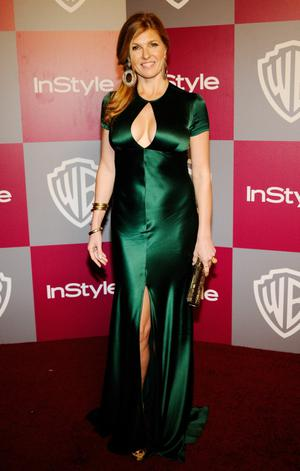 BEVERLY HILLS, CA - JANUARY 16:  Actress Connie Britton arrives at the 2011 InStyle And Warner Bros. 68th Annual Golden Globe Awards post-party held at The Beverly Hilton hotel on January 16, 2011 in Beverly Hills, California.  (Photo by Kevork Djansezian/Getty Images)