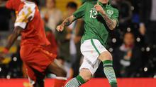 James McClean, left, is hoping to learn from his mistakes