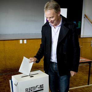 Labour Party leader Phil Goff has quit after defeat at the polls (AP)