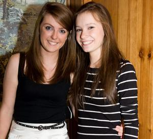 Little Wing East Belfast pictured Alyssia McAnee and Rachael Skates