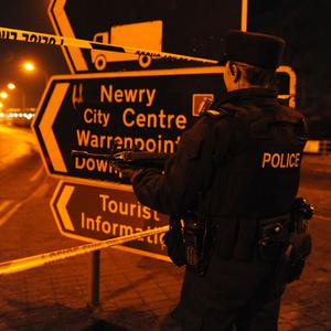Police in Newry after car bomb attack