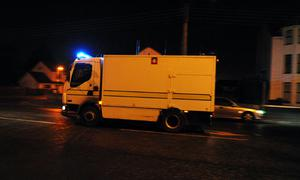 Army bomb disposal experts arrive in Newry