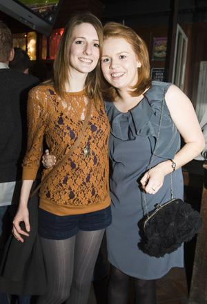Christmas Social Pics -Taphouse pictured Claire McCole and Claire Keogh
