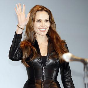 Actress Angelina Jolie arrives at panel for the movie Salt at Comic-Con in San Diego (AP)