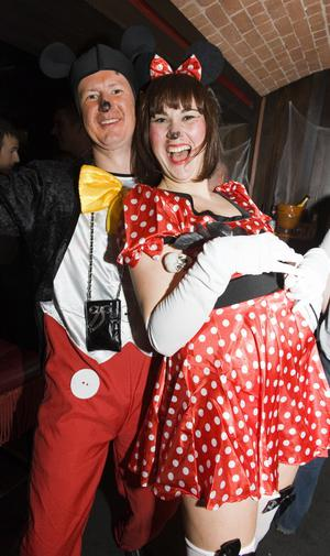 Ollies Halloween Party pictured Paul Grabowski and Olga Zelenkevica
