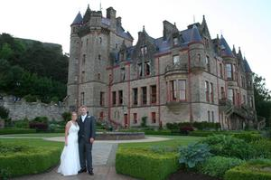 """Victoria Totten & David Hallett married at Holy trinity Church Ballylesson, on Friday 1st June 2012.  The wedding reception was held at Belfast Castle.  Victoria from Newtownabbey and David from Melbourne celebrated their day with friends and family from NorthernIireland and Australia. Victoria studied at Queens University and is a Mechanical Engineer. David runs his own landscaping business.  They both live in Melbourne Australia.  <p><b>To send us your Wedding Pics <a  href=""""http://www.belfasttelegraph.co.uk/usersubmission/the-belfast-telegraph-wants-to-hear-from-you-13927437.html"""" title=""""Click here to send your pics to Belfast Telegraph"""">Click here</a> </a></p></b>"""