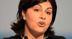 Baronesss Warsi gave a speech at the Vatican