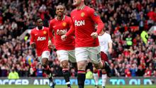Wayne Rooney was substituted during yesterday's win against Aston Villa