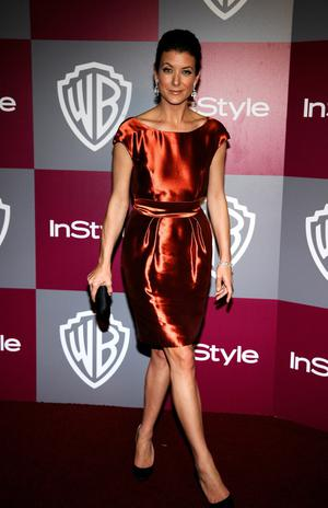 BEVERLY HILLS, CA - JANUARY 16:  Actress Kate Walsh arrives at the 2011 InStyle And Warner Bros. 68th Annual Golden Globe Awards post-party held at The Beverly Hilton hotel on January 16, 2011 in Beverly Hills, California.  (Photo by Kevork Djansezian/Getty Images)