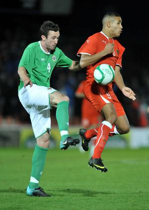 <b>Rory McArdle (for Hughes 46) - 6</b><br /> Made his presence felt early on with a crunching tackle. Steady performance.