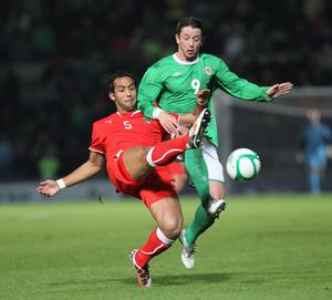 <b>Rory Patterson - 7</b><br /> Thoroughly deserved his goal after the work he's put in for the team, not just in this game, but in his last three internationals alone up front. Showed real willingness to chase every ball and was a handful for defenders.