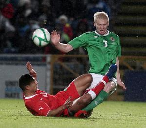 <b>Ryan McGivern - 6</b><br /> Loves to get forward and tried to do so at every opportunity on a decent night for the youngster, which was cut short through injury. Over-ran the ball once or twice, but wasn't punished.