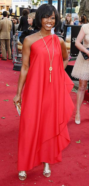 Beverley Knight arriving for the UK premiere of Sex and the City 2 at the Odeon, Leicester Square, London.