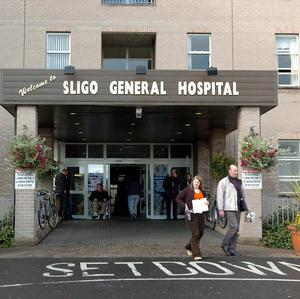 A man was taken to Sligo General Hospital after he was hurt in an attack