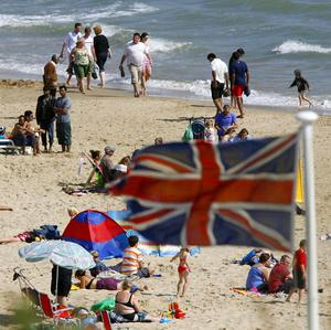 Some Britons are deliberately booking holidays during the Olympics, research suggests