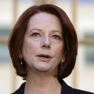 Julia Gillard is planning a referendum on whether to amend the country's constitution to acknowledge the Aborigines as the first Australians