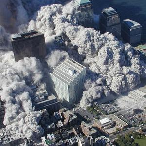 New images of the Twin Towers' collapse have been released