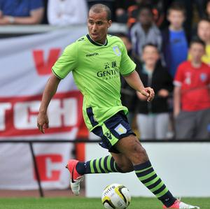 Gabriel Agbonlahor was frustrated at being used in different positions last term
