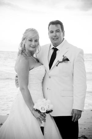 "Paul and Cari Lyttle, Married in the Dominican Republic, at the Paradisus Punta Cana. <p><b>To send us your Wedding Pics <a  href=""http://www.belfasttelegraph.co.uk/usersubmission/the-belfast-telegraph-wants-to-hear-from-you-13927437.html"" title=""Click here to send your pics to Belfast Telegraph"">Click here</a> </a></p></b>"
