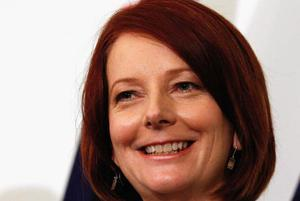 <b>Julia Gillard - Prime Minister of Australia</b><br/>  The 27th Australian PM, who ousted incumbent leader Kevin Rudd today, is the first female prime minister in the country's history. The Labor Party leader, who previously served as Deputy PM under Rudd, is only the second foreign-born ruler since Billy Hughes (1915-1923). Gillard's place of birth is Barry in the Vale of Glamorgan, the seaside resort made famous in BBC's Gavin and Stacey.