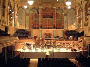 The stage is set for the Ulster Hall's reopening tonight
