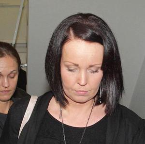 Rebecca Leighton leaves the Nursing and Midwifery Council in London after the body ruled she can return to nursing