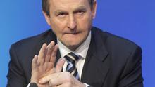 Taoiseach Enda Kenny said the Irish Government remains committed to the cross-border A5 project