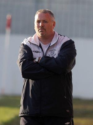 Ballyclare Comrades boss Gordon Chambers knows his side are facing mission improbable against Linfield tonight