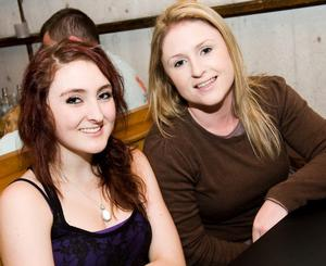 Hannah and Emma Ryan in the Little Wing, Bangor