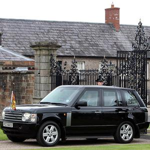 Security has been tight for the Queen's visit to Northern Ireland