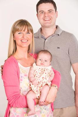 FRANK and Angela Macfarlane's baby daughter Ana is named after Praia de Ana in Portugal where the Newtownabbey couple got engaged.  As well as being a first child for the environmental scientist and occupational therapist's assistant, Ana is also a first grandchild for both sides of the family