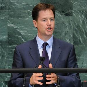 Deputy Prime Minister Nick Clegg has described the UK-US relationship as 'built to last'