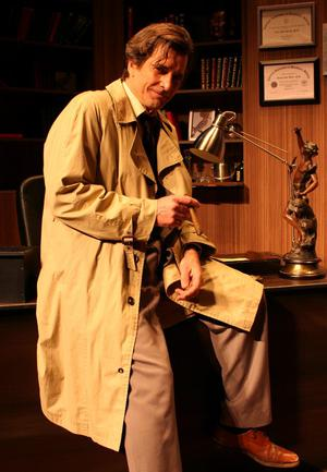 Dirk Benedict in his role as Columbo