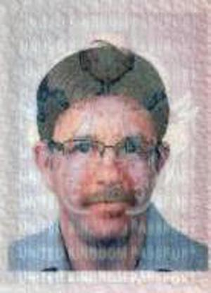 This undated photo released by the Dubai Ruler's Media Office on Monday, Feb. 15, 2010, is claimed by Dubai's Police Chief to show a man named James Leonard Clarke of British nationality, who the Dubai Police Chief identified as one of eleven suspects wanted in connection with the killing of a Hamas commander, Mahmoud al-Mabhouh, in his Dubai hotel room last month. (AP Photo/Dubai Ruler's Media Office)