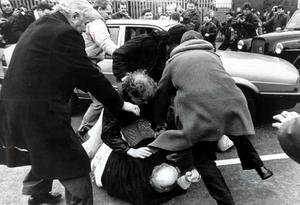 In March 1988 two corporals, Derek Wood and David Howes, were stripped, beaten and shot dead, after driving into the path of a republican funeral in Belfast.