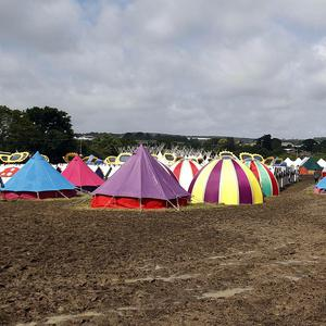 More than 50,000 people are expected at the Isle of Wight festival