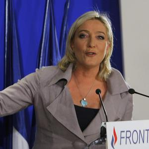 The results amount to 'spectacular progress', National Front leader Marine Le Pen said