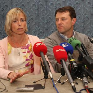 Kate and Gerry McCann welcomed Scotland Yard helping to look for their missing daughter
