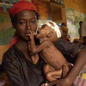 Hunger is costing the world's poorest nations 290 billion pounds a year according to a new report
