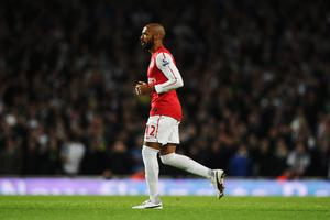 LONDON, ENGLAND - JANUARY 09:  Thierry Henry of Arsenal comes on as a substitute during the FA Cup Third Round match between Arsenal and Leeds United at the Emirates Stadium on January 9, 2012 in London, England.  (Photo by Clive Mason/Getty Images)