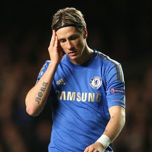 Fernando Torres has struggled to score goals at Chelsea