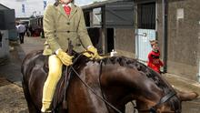 <b>FLASHBACK TO BALMORAL SHOW 2010.</b>   James Phillips aged 8 pictured on his horse Anna