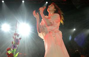 Florence and the Machine performing at Belsonic Festival in Custom House Square, Belfast