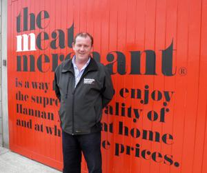 Peter Hannan believes in locally produced food
