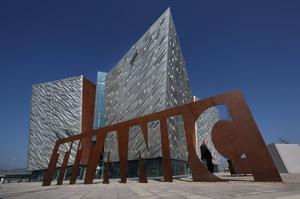 Entrance to the Titanic Belfast Experience