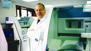 Dr Peter Fitzgerald, managing director of Randox Laboratories
