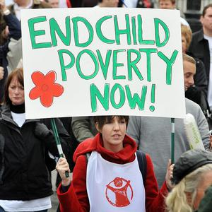 Save the Children called for the voices of disadvantaged youngsters to be heard