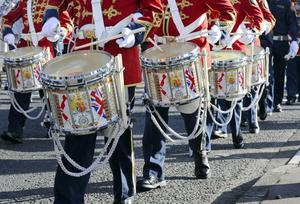 Marching bands celebrate 100 years since the signing of the Ulster Covenant